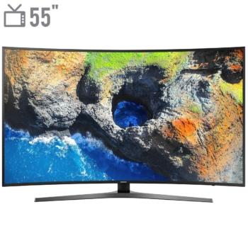 تلویزیون 4K هوشمند خمیده سامسونگ مدل 55NU7950 سایز 55 اینچ