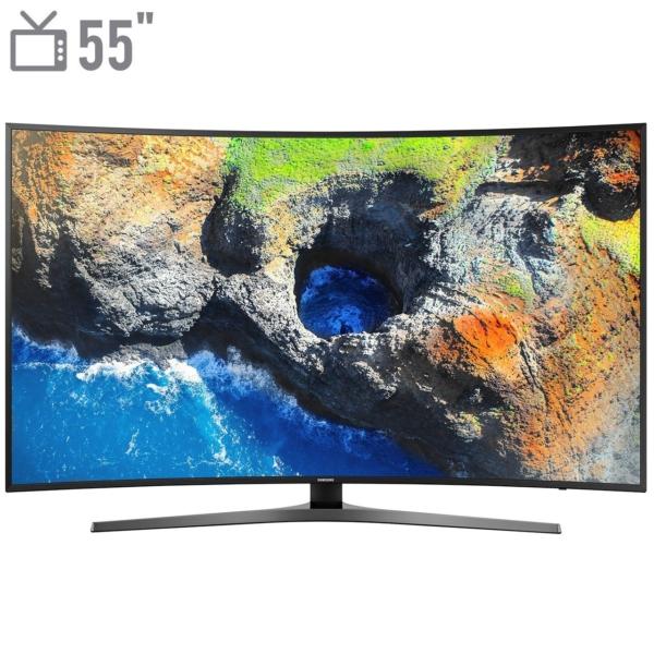 تلویزیون 4K هوشمند خمیده سامسونگ 55 اینچ مدل 55NU7950