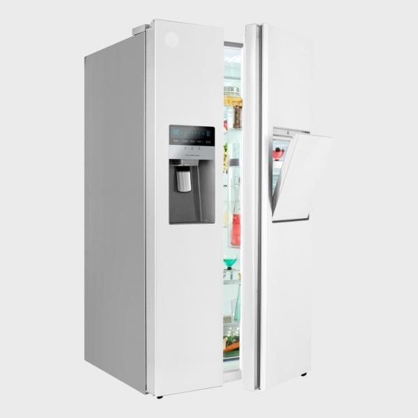 یخچال فریزر ساید بای ساید اسنوا سری هایپر مدل S8-2322GW