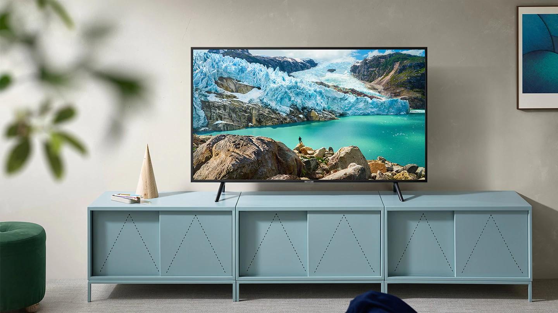 تلویزیون 4K هوشمند سامسونگ مدل 55RU7105 سایز 55 اینچ