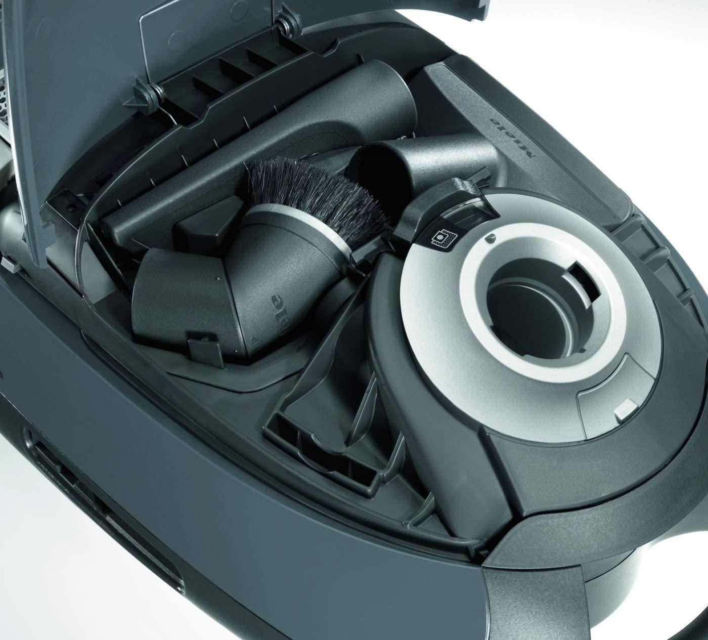 جارو برقی میله مدل C3 EcoLine رنگ خاکستری