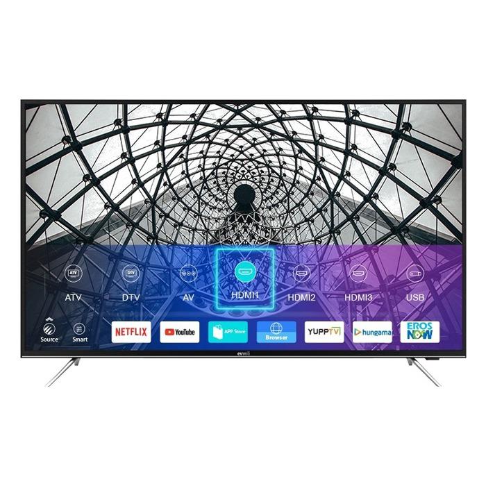 تلویزیون هوشمند 4K ایوولی مدل 58EV200US سایز 58 اینچ