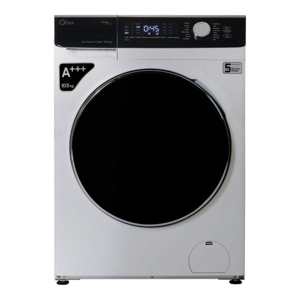 ماشین لباسشویی 10.5 کیلویی جی پلاس مدل GWM-K1048S