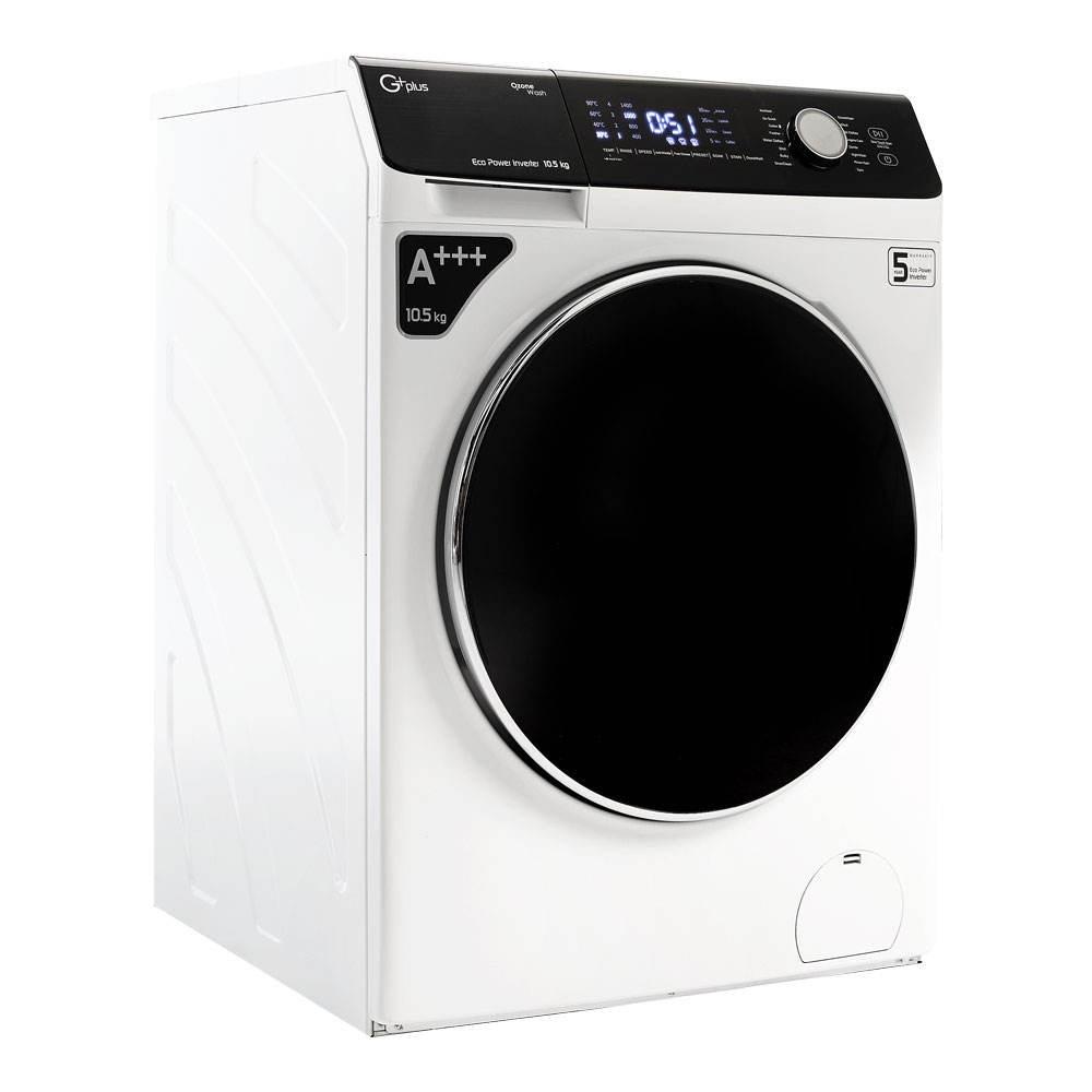 ماشین لباسشویی 10.5 کیلویی جی پلاس مدل GWM-K1048W