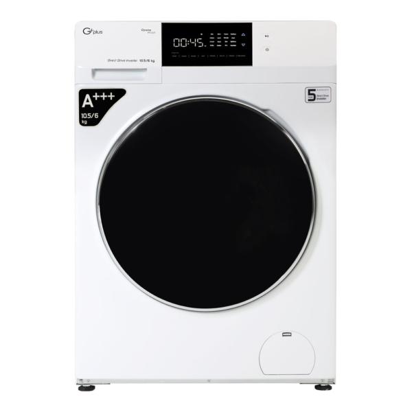 ماشین لباسشویی 10.5 کیلویی جی پلاس مدل GWM-KD1049W