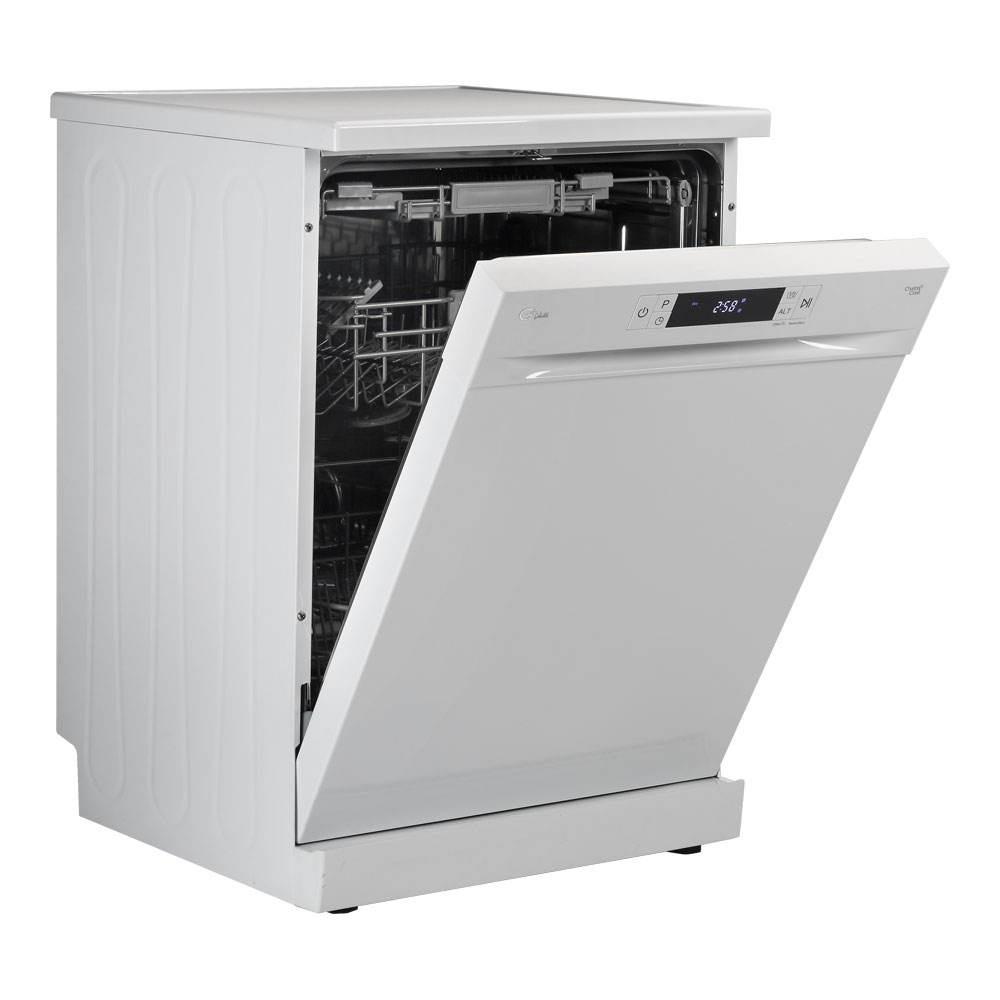 ماشین ظرفشویی 14 نفره جی پلاس مدل GDW-K462W سفید