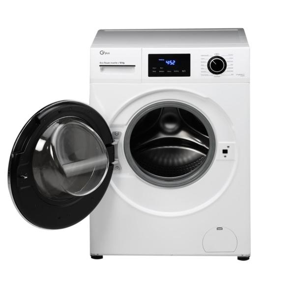ماشین لباسشویی 8 کیلویی جی پلاس مدل GWM-K844W سفید