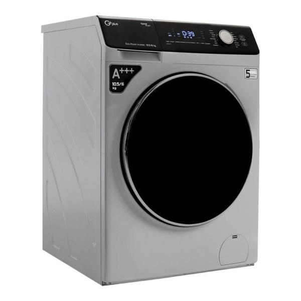 ماشین لباسشویی 10.5 کیلویی جی پلاس مدل GWM-KD1048S