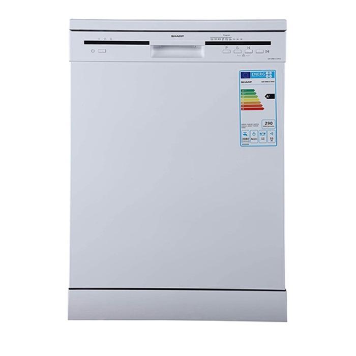 ماشین ظرفشویی 12 نفره شارپ مدل QW-MB612-WS سفید