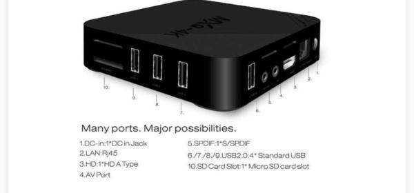 اندروید باکس مدل MXQ 4K