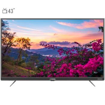 تلویزیون هوشمند ایکس ویژن مدل 43XT735 سایز 43 اینچ